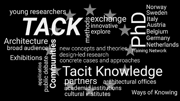 Tacit Knowledge and Architectural Design, 10 PhD Positions Now Open, new concepts and theories, theories and histories, concrete cases and approaches, Ways of Knowing, young researchers, cultural heritage, public debate, cultural institutes, Training Network, funding